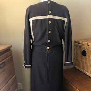 Valentino Dresses - Valentino Boutique Vintage Crepe Wool Dress